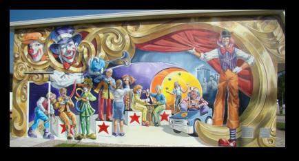 Murals Of Lake Placid